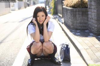 JAV Idol Risa Shimizu, Fuck Me After School, 清水理紗, 放課後に、仕込んでください ~スケベな大人の女になりたいの
