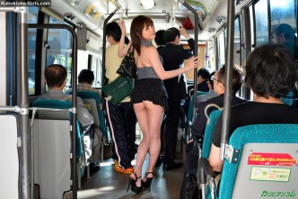 JAV, AV, Idols, JAV Idols, jav pics, Japanese, adult, video, jav movies, JAV Idol Erena Mizuhara, Endlessly in Heat Female Bus Chikan Groping 水原えれな 無差別に男を狩る逆痴漢女
