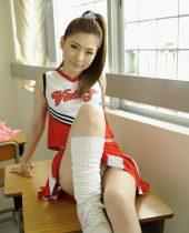 Yua Saiki, Red Hot Jam 358, RHJ-358, 斉木ゆあ, cheerleader cosplay, toy play, blowjob, bareback, creampie sex, masturbation, blowjob, pussy-licking, bareback sex