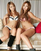 2 Hot Japanese gals, fuck, creampied together, Model Collection, Tsubasa, Kanon, orgy, Butler Café, lesbian, group sex, blowjobs, hardcore sex, uncensored, RHJ-205, Red Hot Jam,