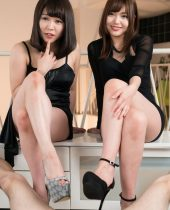 Shino Aoi and Yui Kawagoe 碧しの, 川越ゆい - Ashi Fetish gravure photos and exclusive leg and foot fetish pictures and movies from Tokyo, Japan, AV女優 素人 足フェチ, 脚フェチ動画 画像 無修正ギャラリー