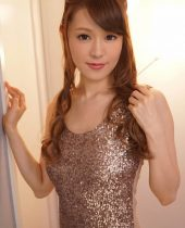 JAV Idol, Ruri Tachibana in evening wear plans a night of entertainment for her lover inside Ruri